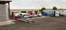 All Pro Truck Body Shop, Truck Painting Booth