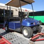 Golf Cart Before, All Pro Fleet Painting
