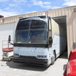 Tourwest bus painting, All Pro Truck Body Shop