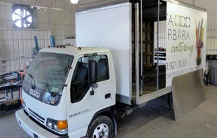 All Pro Fleet Painting Truck Body Shop