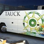 Tauck Bus Repair, Painting, and Lettering