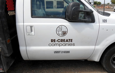 painted truck graphics