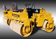 Bomag Roller equipment painting
