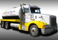 Duck Septic Truck Painting