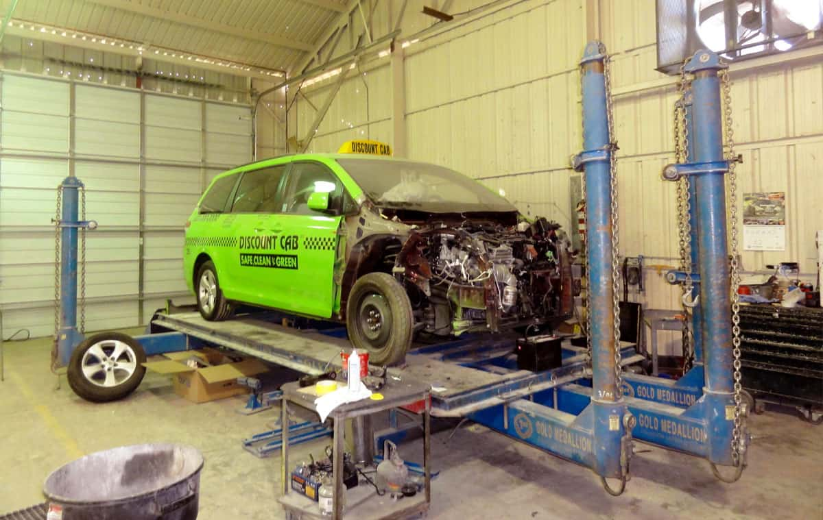 Truck Frame Repair | All Pro Truck Paint