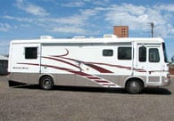 RV collision repair sun city