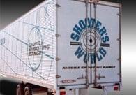 Shooters World Painted Truck Branding