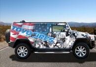 Toyo Tires Truck Wrap