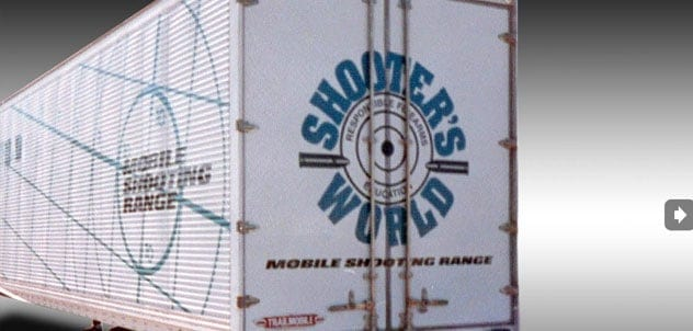 New Trailer Painting and Lettering for Shooter World