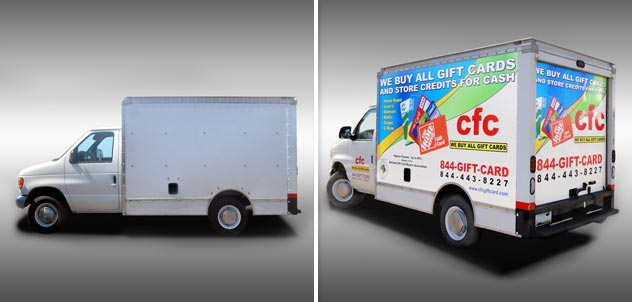 CFC Cash Box Truck