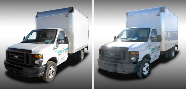 Box Truck Body Repair and Paint