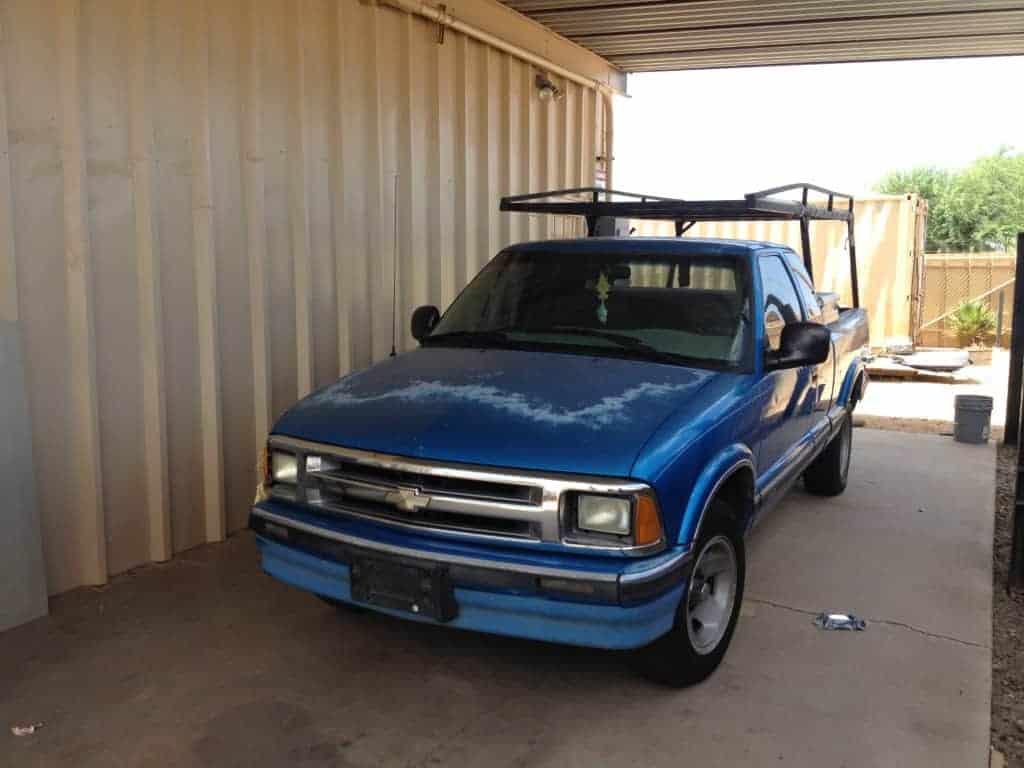 Chevrolet S-10 Extra Cab