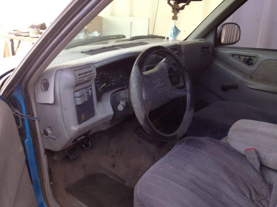 S-10 Interior