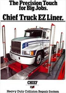 truck frame straightening machine
