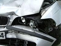 BMW Crashed, Large Trucks vs. Small Vehicles