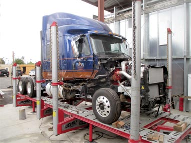 Truck Body Shop Repair, Phoenix AZ